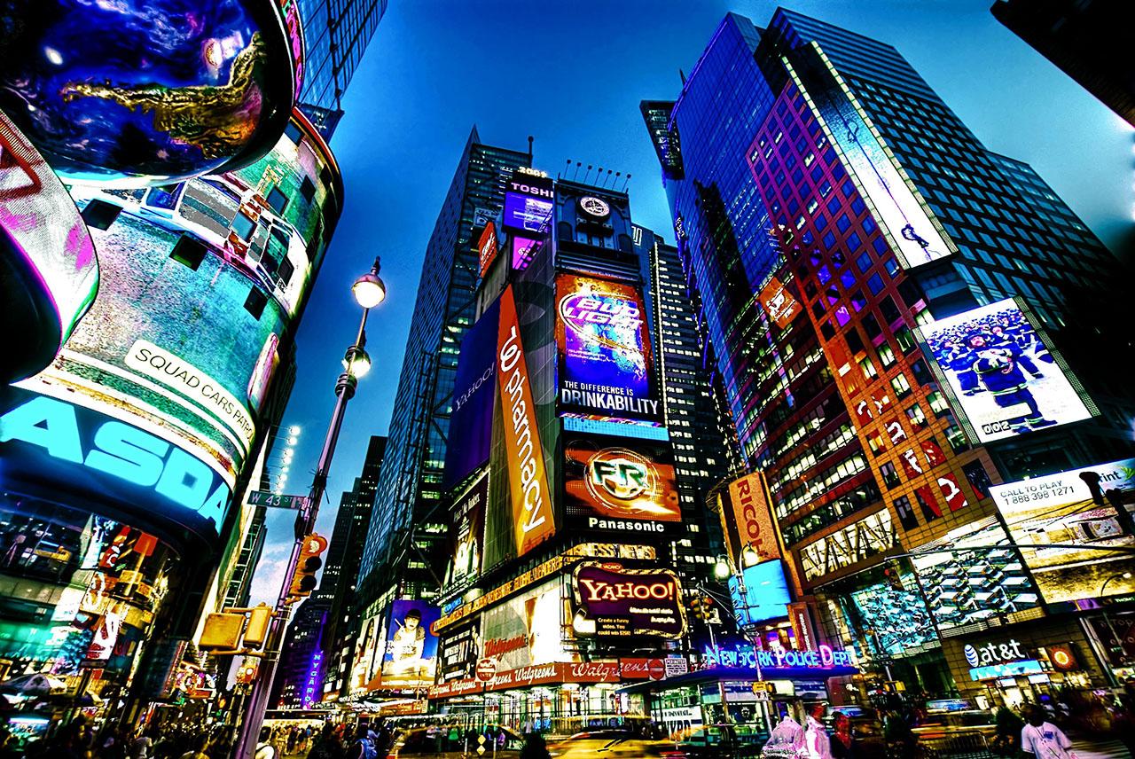 Постер на подрамнике New York
