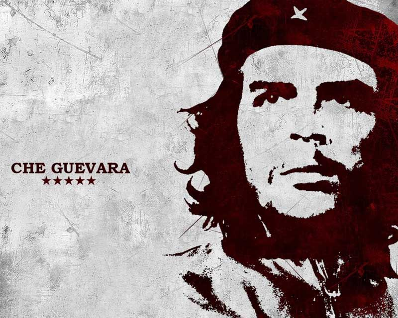 Постер на подрамнике Че Гевара-8