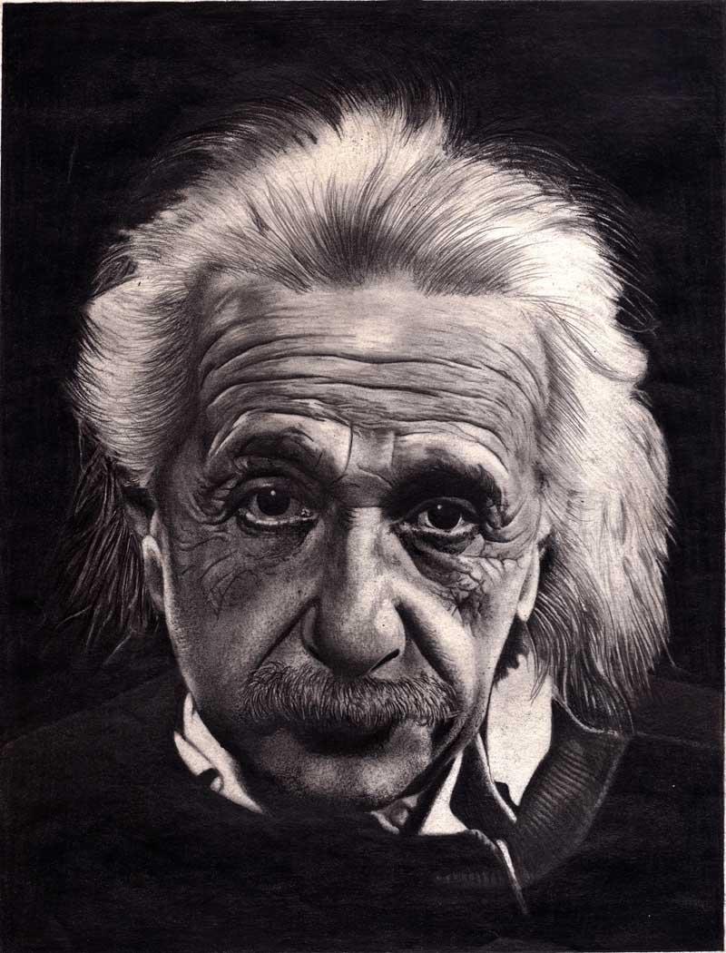 Постер на подрамнике Альберт Эйнштейн-2