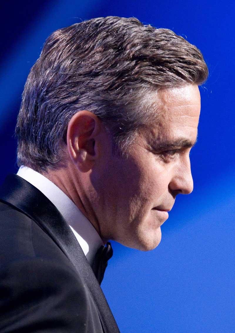 Постер на подрамнике Джордж Клуни-11