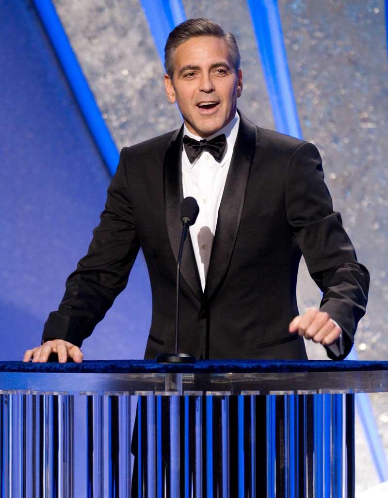 Постер на подрамнике Джордж Клуни-12