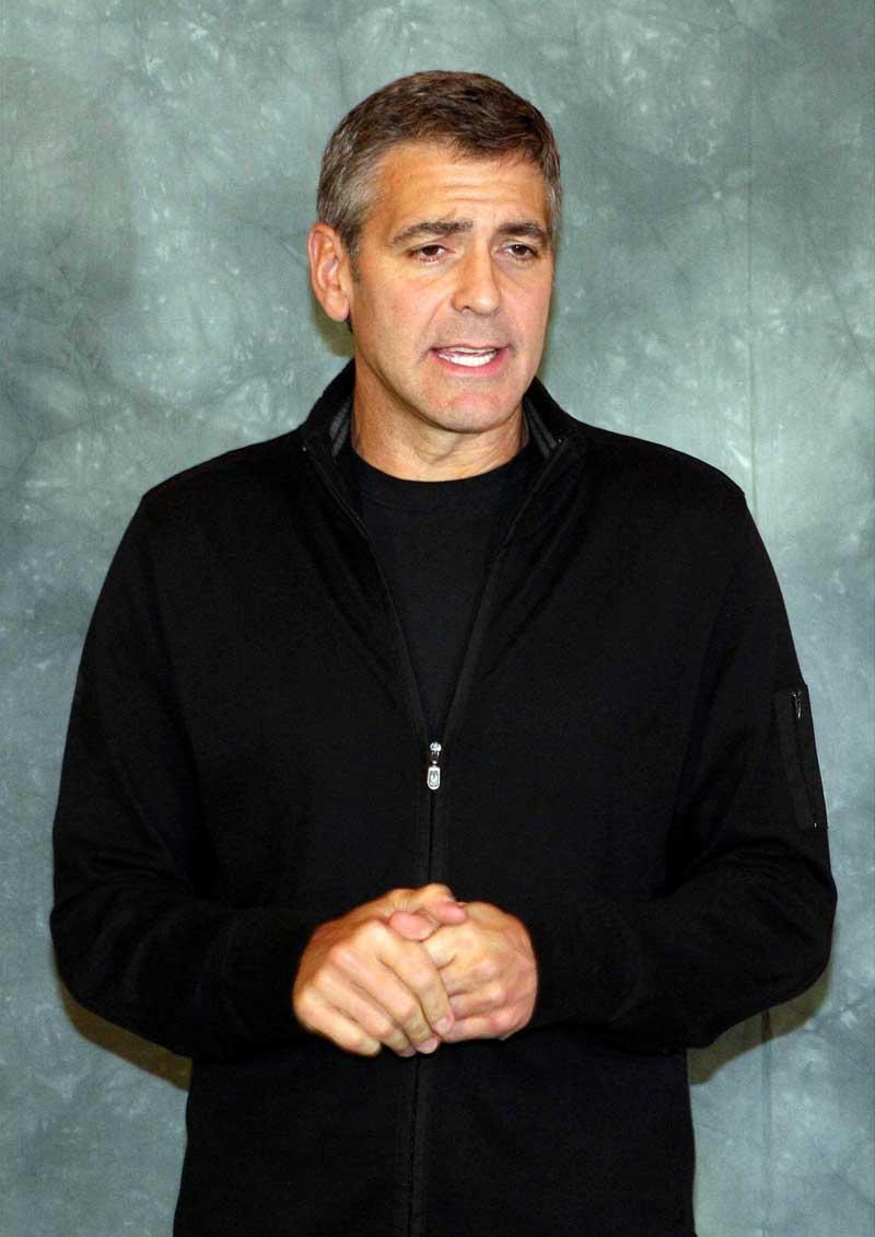 Постер на подрамнике Джордж Клуни-14