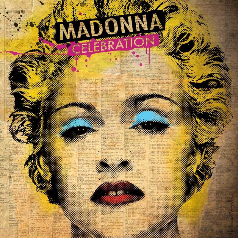 Постер на подрамнике Мадонна-127