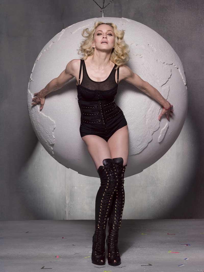 Плакат Мадонна-355