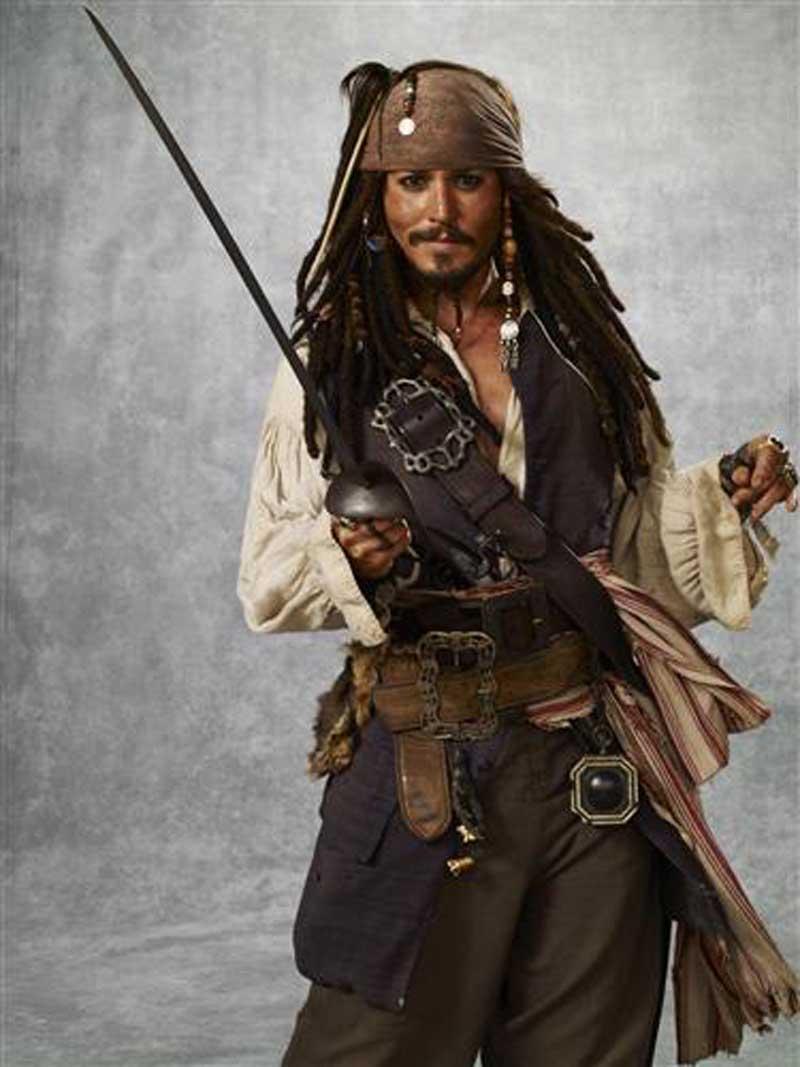 Плакат Джонни Депп Пират