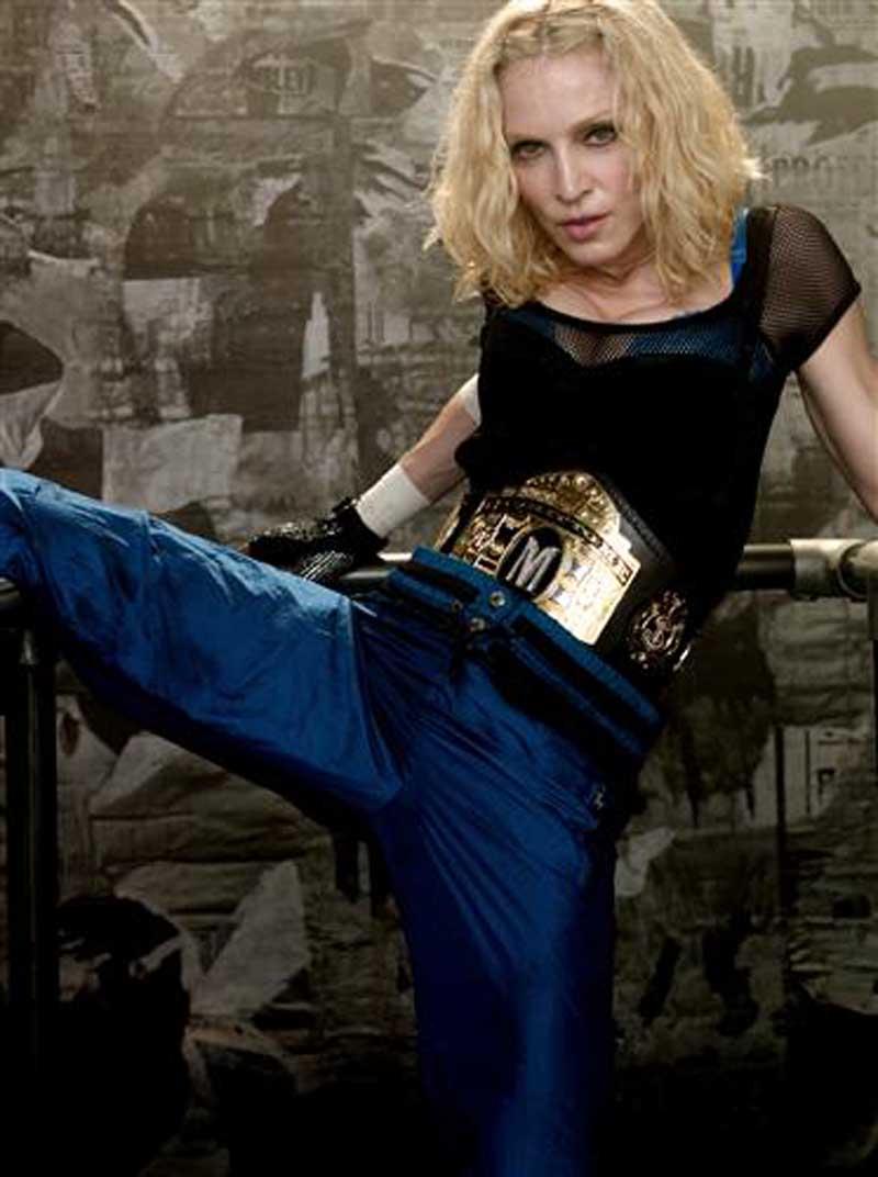 Плакат Мадонна-476