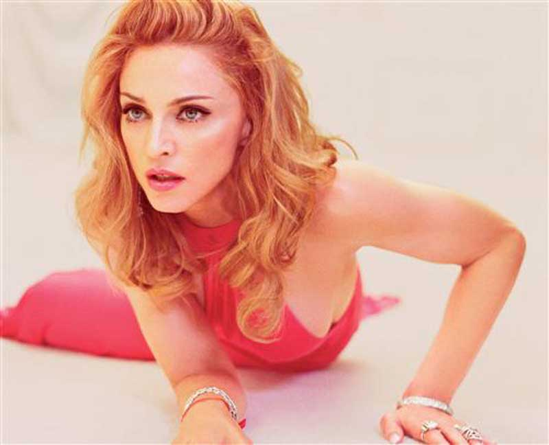 Плакат Мадонна-556