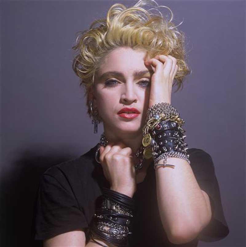 Плакат Мадонна-666