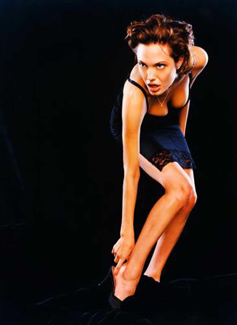 Постер на подрамнике Анджелина Джоли-25