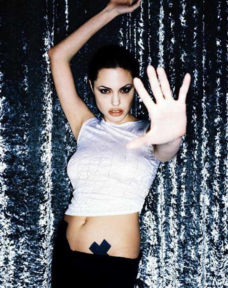 Постер на подрамнике Анджелина Джоли-54