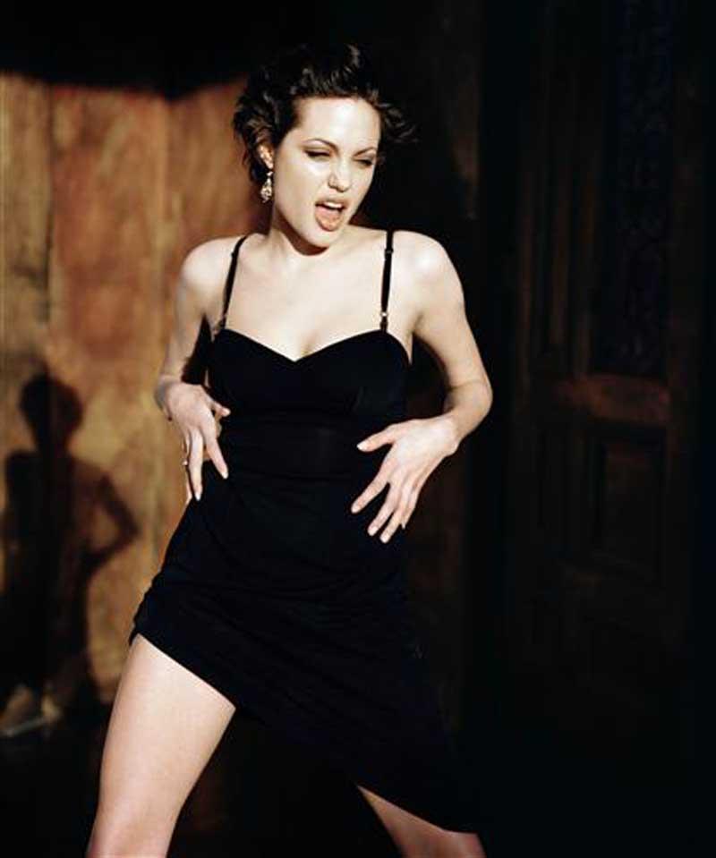 Постер (плакат) Анджелина Джоли-73
