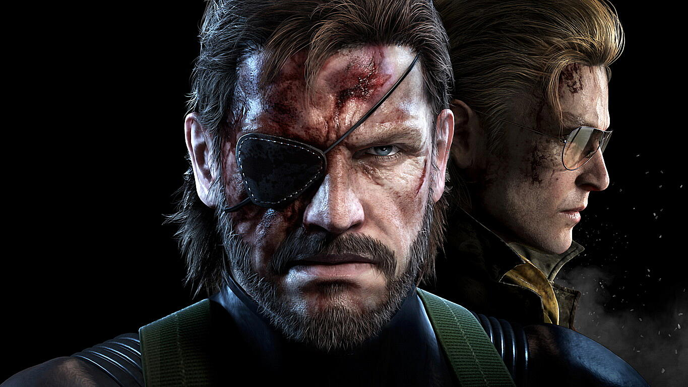 Плакат Metal Gear Solid V: The Phantom Pain  артикул 23117