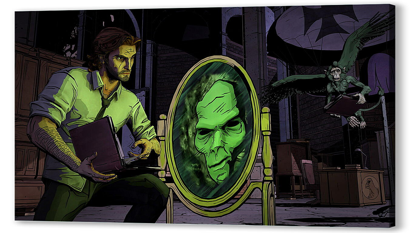 Постер на подрамнике The Wolf Among Us  артикул 26695