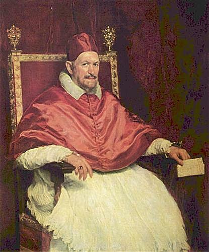 Плакат Portrait of Pope Innocent X	  артикул 69781