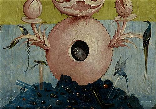 Плакат The Garden of Earthly Delights, left panel (Detail	  артикул 71043