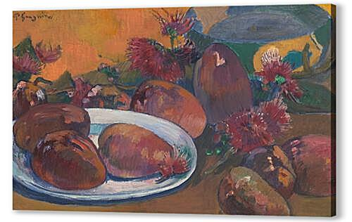 Постер на подрамнике Still Life with Mangoes	  артикул 71669