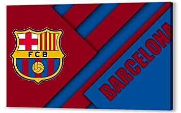 Постер на подрамнике - Football Club Barcelona