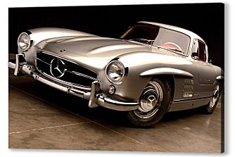 Постер на подрамнике - Mercedes Benz 300sl