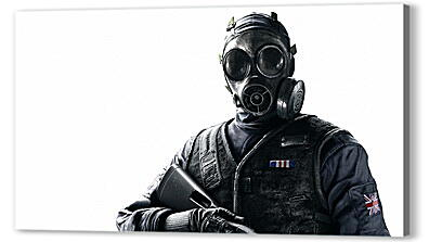 Постер на подрамнике - tom clancy's rainbow six, siege, ubisoft montréal