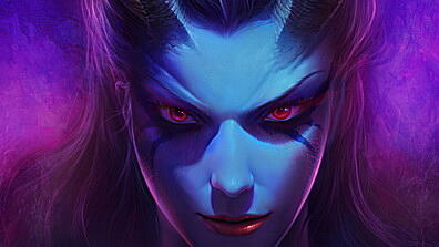 dota 2, queen of pain, akasha