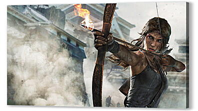 Постер на подрамнике - tomb raider definitive edition, crystal dynamics, lara croft