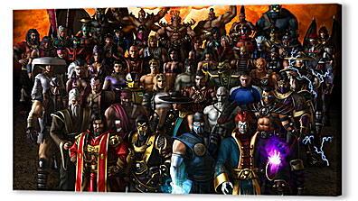 Постеры Mortal Kombat
