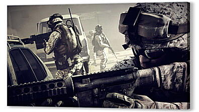 battlefield 3, soldiers, machine