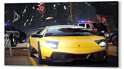 Постер на подрамнике - nfs, need for speed, car