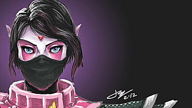 templar assassin, dota 2, art