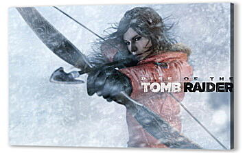 Постер на подрамнике - Rise Of The Tomb Raider