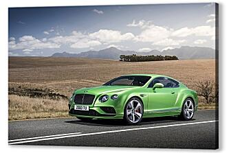 Постер на подрамнике - Бентли (Bentley continental gt)