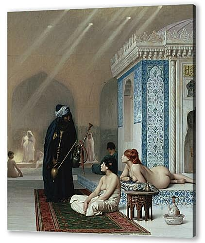 Постер на подрамнике - Pool in a Harem