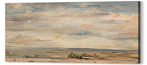 Постер на подрамнике - Cloud Study, Early Morning, Looking East from Hampstead