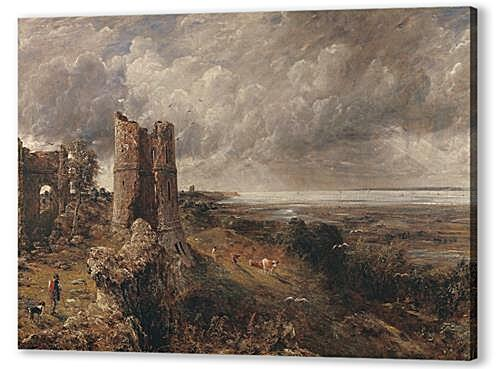 Постер на подрамнике - Hadleigh Castle, The Mouth of the Thames  Morning after a Stormy Night