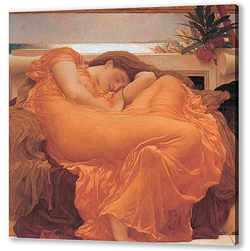 Картина маслом - Flaming june