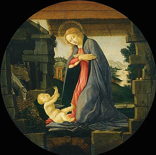 The Virgin Adoring the Child