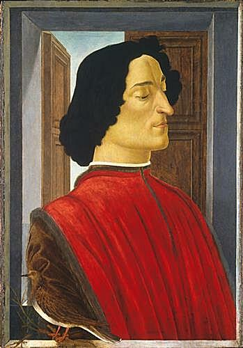 Картина - Portrait of the Giuliano de Medici