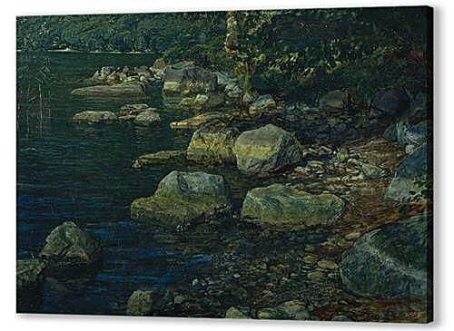 Картина маслом - Water and Stones near Palazzuola