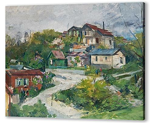 Постер на подрамнике - VIEW OF THE VILLAGE