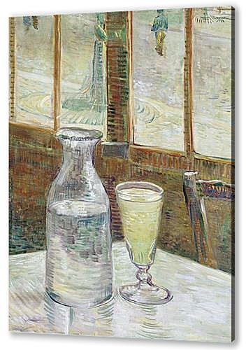 Cafe Table with Absinth