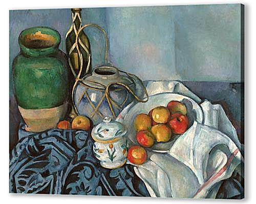 Картина маслом - Still life with apples