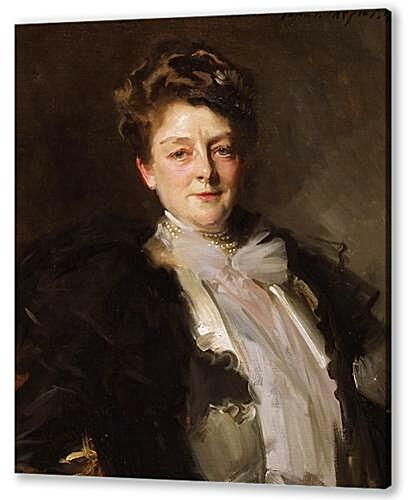Постер на подрамнике - Portrait of Mrs. J. William White