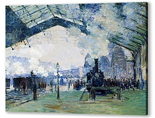 Saint-Lazare Station, the Normandy Train
