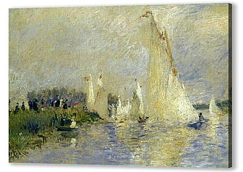 Постер на подрамнике - Regatta at Argenteuil