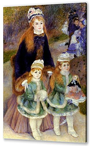 Madame Georges Charpentier and Her Children at park