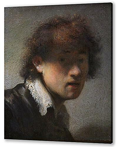 Self-portrait at early age