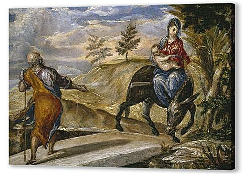 Картина маслом - The Flight to Egypt