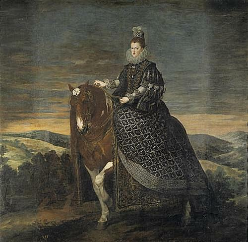 Плакат на стену - Queen Margarita de Austria wife of Felipe III