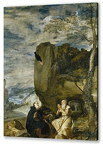 Saint Anthony the Abbot and Saint Paul theFirst Hermit