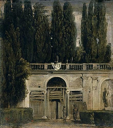 Плакат на стену - The Medici Gardens in Rome